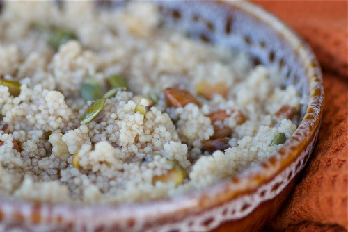 Warm and Nutty Breakfast Couscous