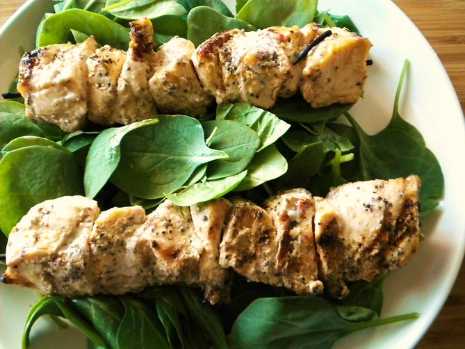 Alabama-Style Chicken Kebabs