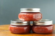 Small Batch Strawberry Rhubarb Jam 