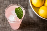 Sparkling Rhubarb Lemonade