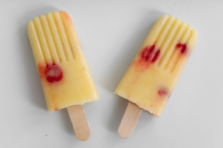 Pina Colada Popsicles