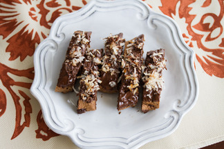 Chocolate Coconut Biscotti