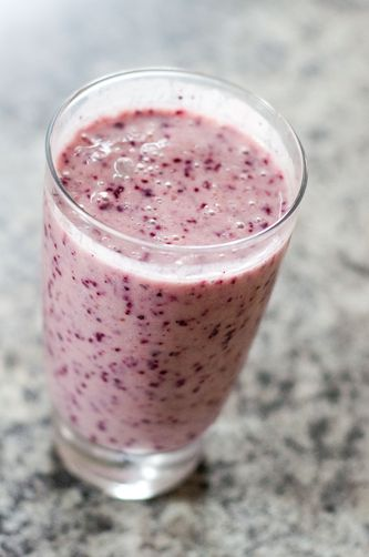 Blueberry Lassi