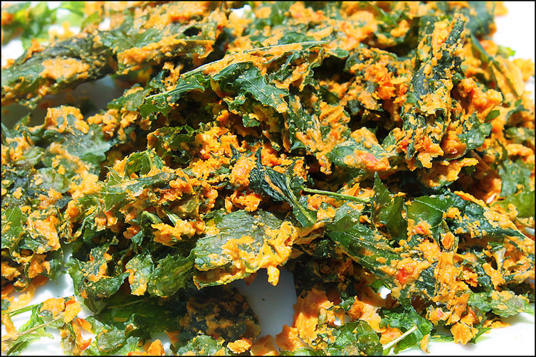 Cheesy Kale Chips (Raw & Vegan) Recipe on Food52