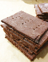 Chocolate Quinoa Crackers