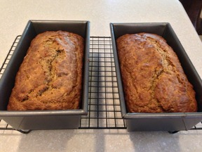 1970's Inspired Banana Nut Bread