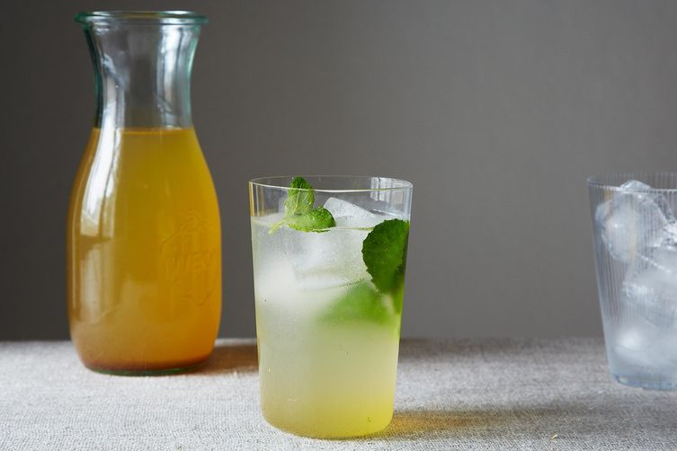 Saffron and Cardamom Lemonade Concentrate.Food52