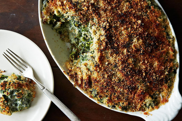 Spinach Gratin from Food52