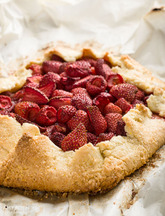 Gluten-Free Strawberry Galette