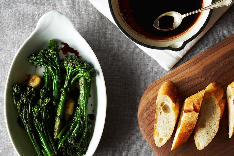 Rapini with Vin Cotto from Food52