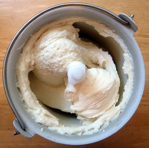 Rosemary Honey Lemon Frozen Yogurt
