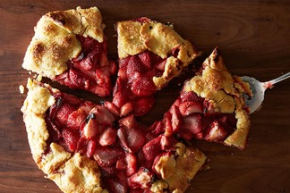 Strawberry Lime Crostata