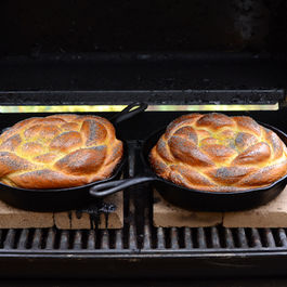 Challah Baked on the Grill by Ruthie Selch