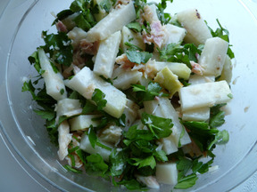 Kohlrabi_and_trout_salad