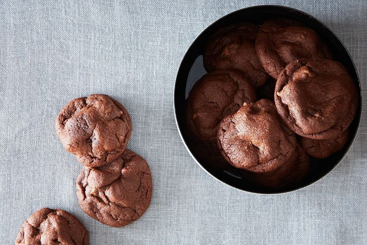 Deep Chocolate Cookies