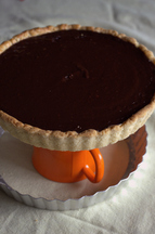 Chocolate & Beer Tart