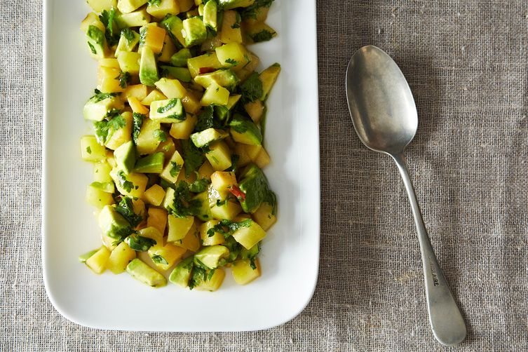 Plum Avocado Summer Salad