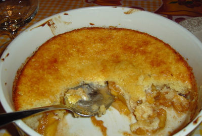 (Maybe the World's Best) Peach Cobbler