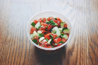 Tomato, Cucumber, and Herb Salad