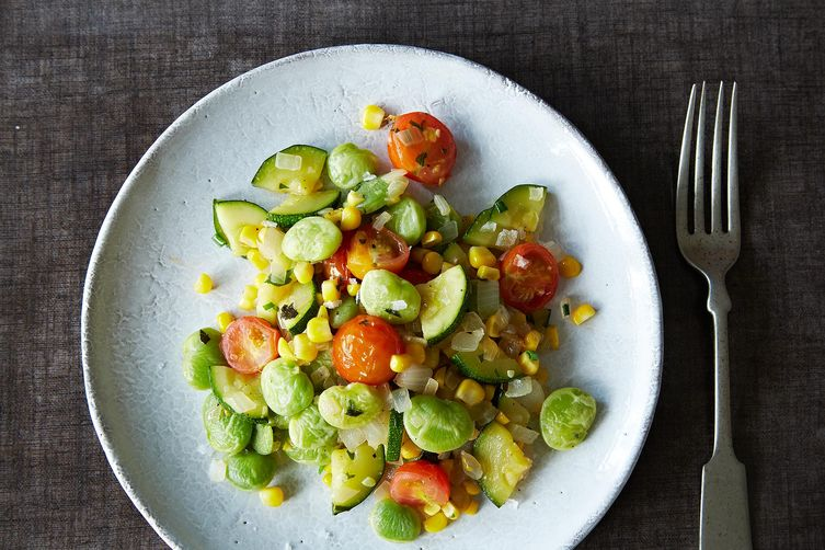 Vegan Summer Succotash