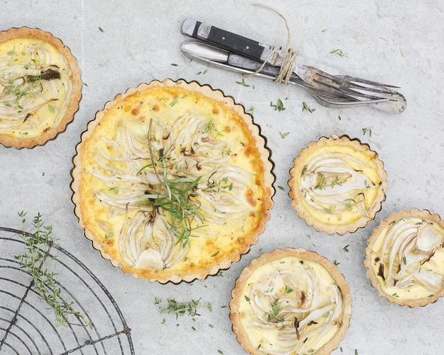 Fennel and Coconut Tart from Food52
