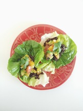 Heirloom Tomato-Avacado-Quinoa Lettuce Wraps