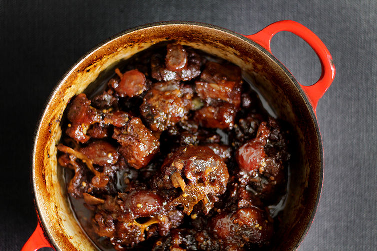 Sichuan peppercorn red-braised ox tail