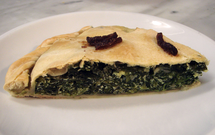 Tuscan Ricotta and Broccoli Rabe Pie - Erbazzone
