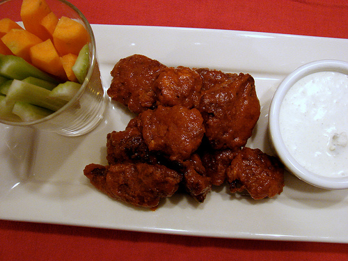 Buffalo-Style Fried Chicken Livers