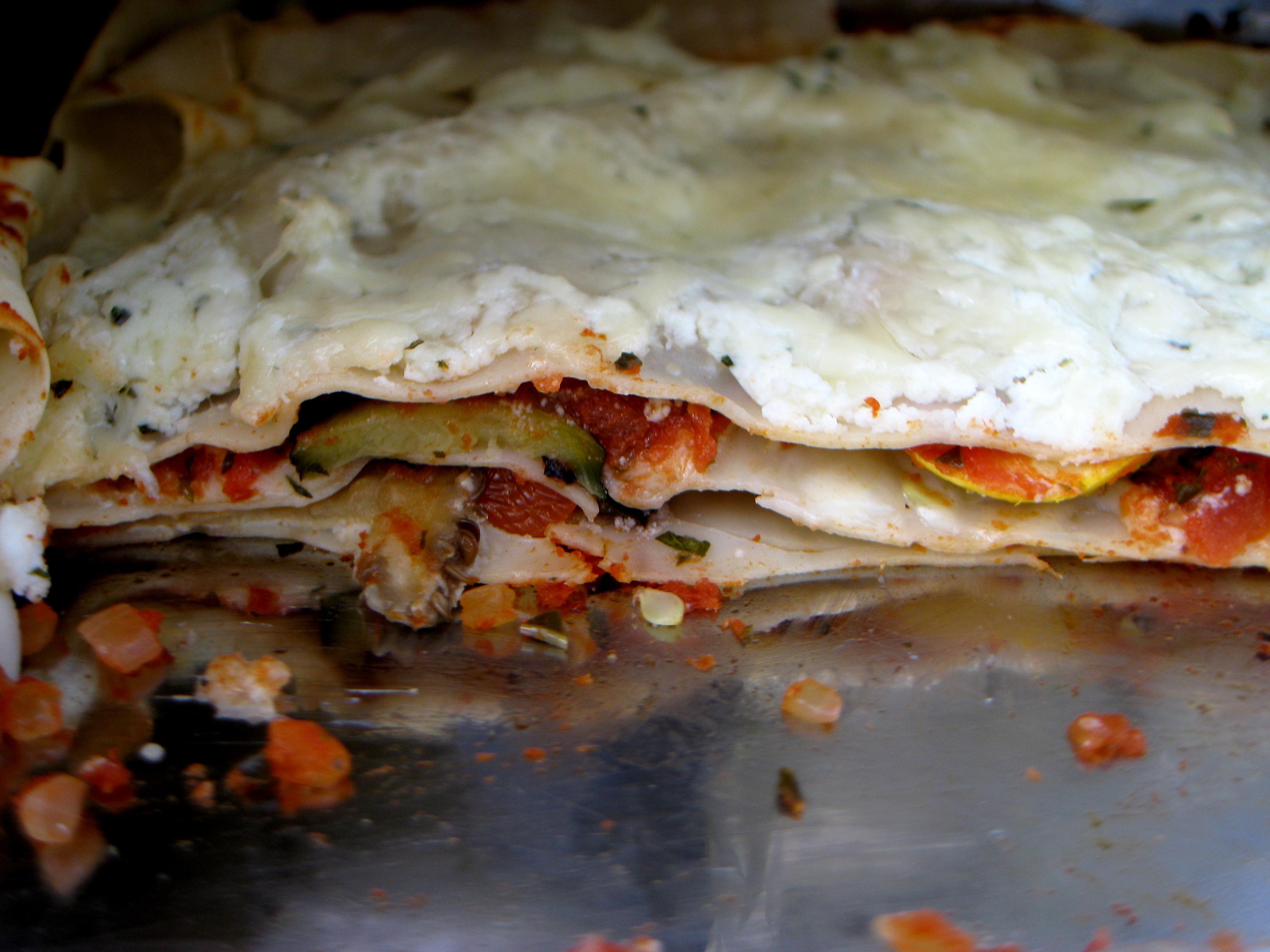Roasted Vegetable Lasagna Recipe on Food52