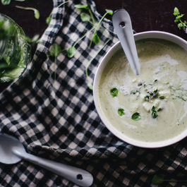 20-Minute Apple and Fennel Soup