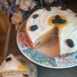 Blackberrycreamcake