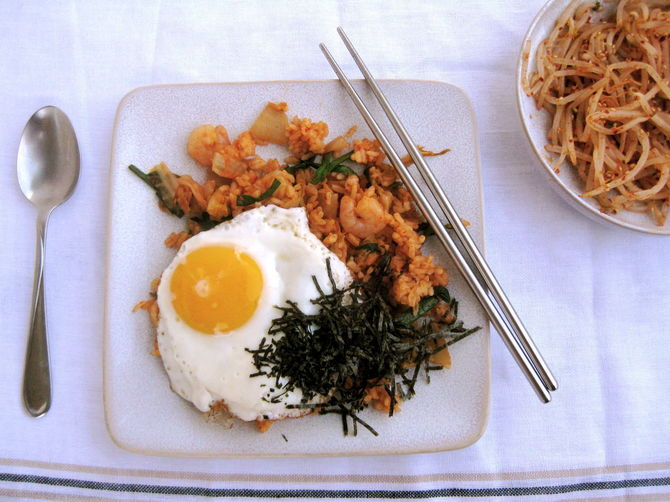 Kimchi Fried Rice from Food52