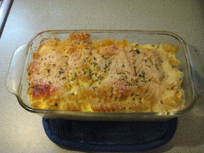 Mom&#x27;s Baked Macaroni