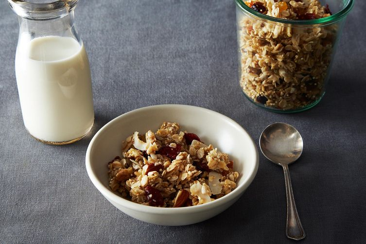 Maple Quinoa Granola on Food52