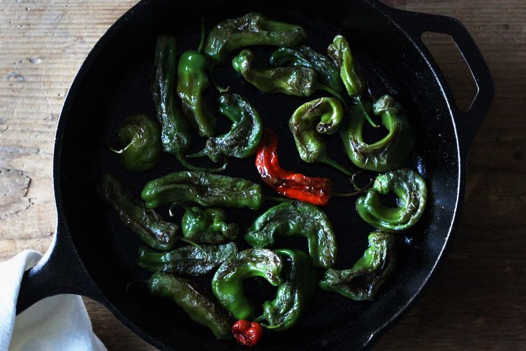 Blistered Shishito Peppers on Food52