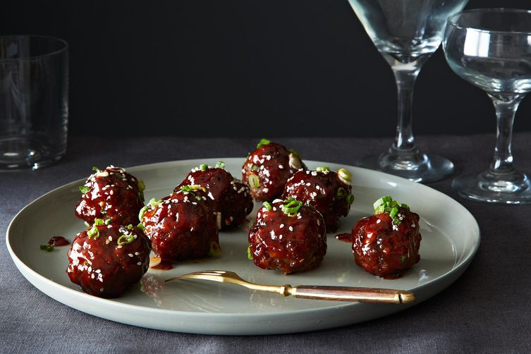 Spicy Korean Meatballs on Food52