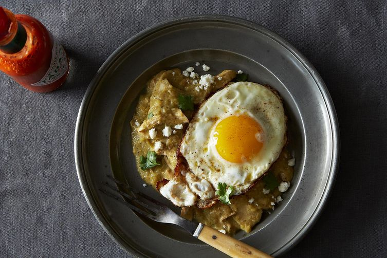Chilaquiles Verdes on Food52