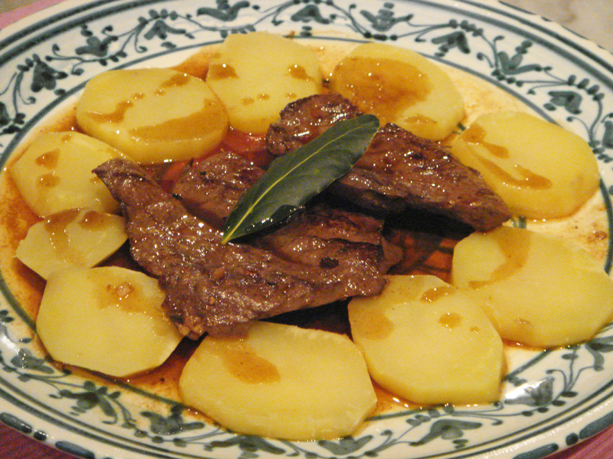 Portuguese Marinated Liver  Iscas com Elas