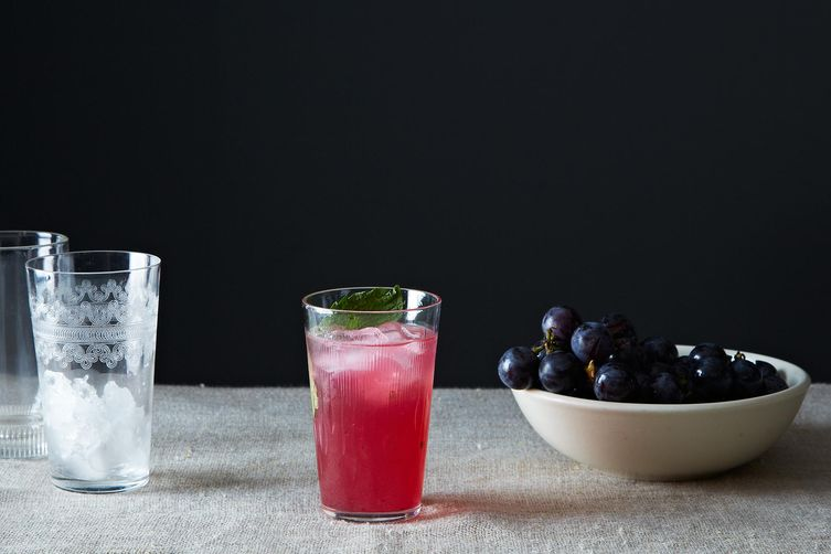 Concord Grape Smash on Food52