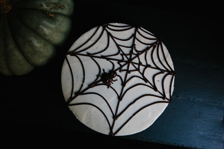 Spooky Spider Cake on Food52