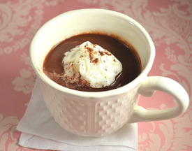 Rich Venetian Hot Chocolate ~ The Hot Chocolate of Your Dreams