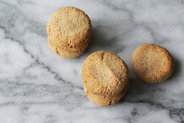 Fave dei Morti  (Almond Cookies with Cinnamon & Rum)