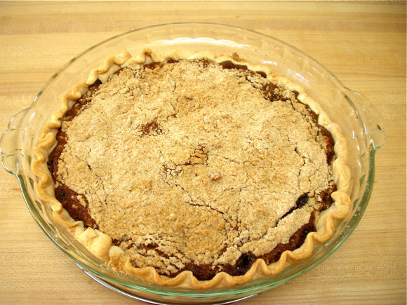 Wet Bottom Shoofly Pie