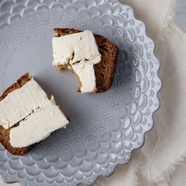 Pumpkin Bread with Brie