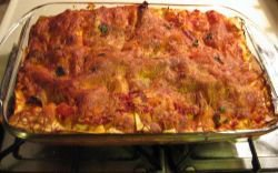 Baked Southwestern Lasagna