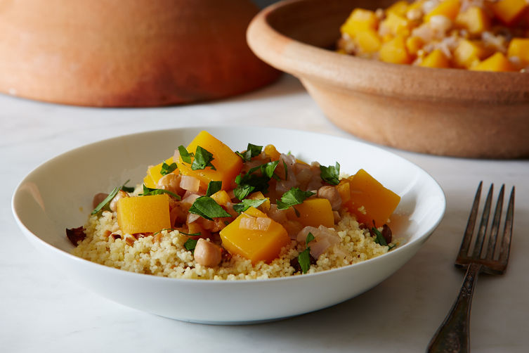 Warming Winter Squash Tagine on Food52
