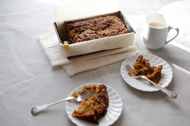 Applesauce Carrot Bread with Pecan Streusel Recipe on Food52