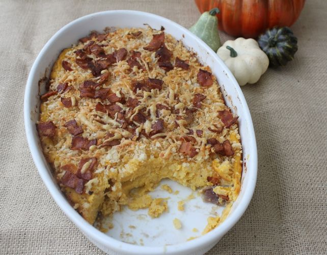 Butternut Squash, Potato and Gruyere Gratin