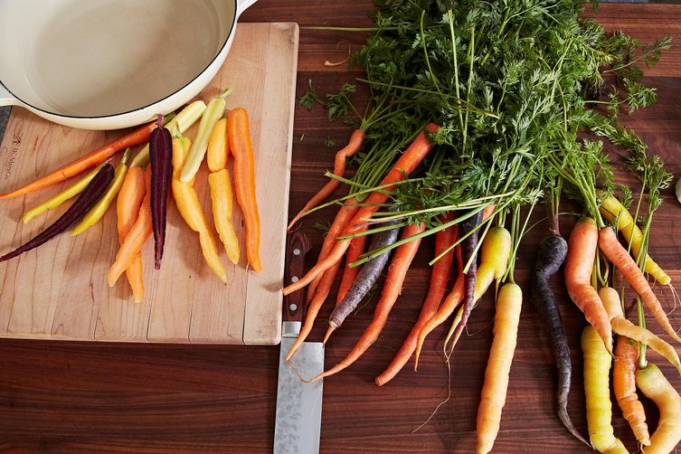 Colorful Carrots with Butter and Honey